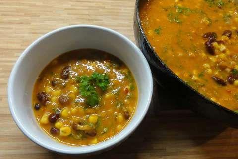 Jak uvařit mexickou rajčatovou polévku | recept