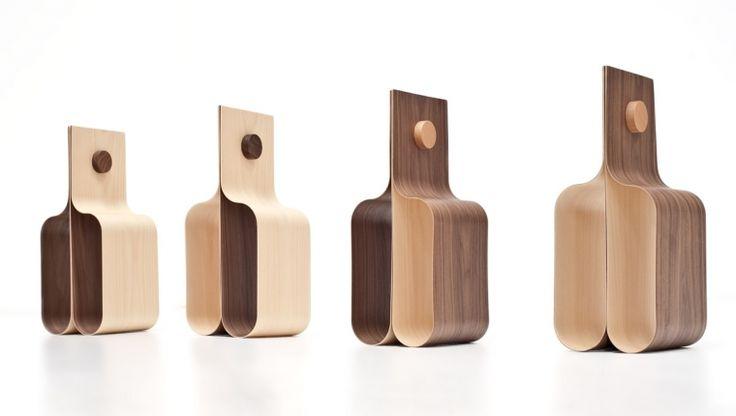 Incurva / magazine-wine holder / design Mario Pagliaro / Formabilio