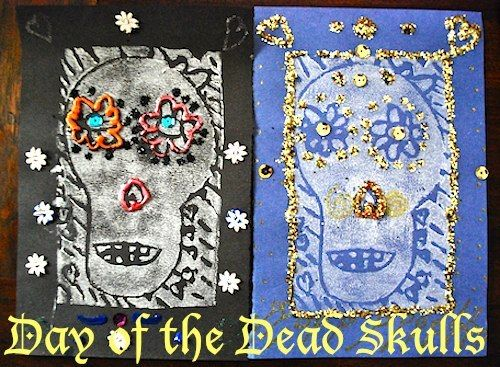 1000 images about kids multicultural arts crafts on for Day of the dead arts and crafts
