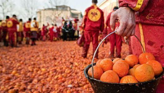 Lo Storico Carnevale di Ivrea e la battaglia delle arance