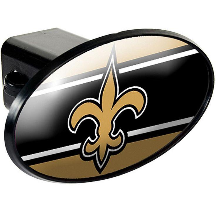 Football Fan Shop New Orleans Saints Trailer Hitch Cover