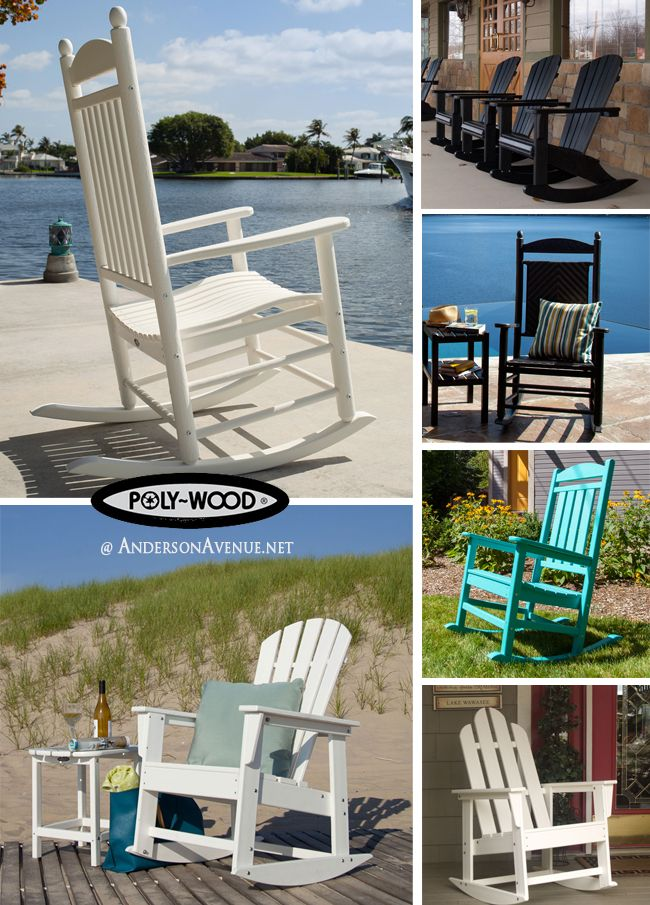 ... Welcome In Spring Than In A Poly Wood Rocking Chair? The Weather  Resistant And Eco Friendly Lumber Is Made From Recycled Bottles Such As Milk  Cartons. Part 75