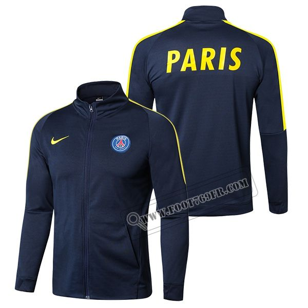 Magasin De Nouveaux Veste PSG Paris Saint Germain Bleu