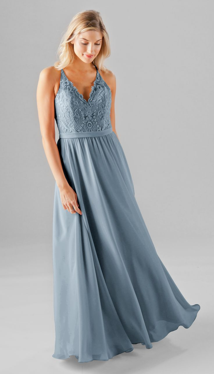 Romantic and elegant, Iris is a gorgeous dress for your bridesmaids. The sheer embroidered racerback design is absolutely gorgeous and will look great in your wedding photos! Not only does our exclusi