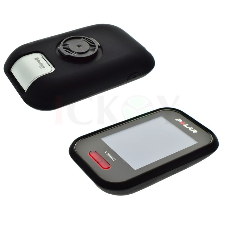 Outdoor Bycicle Road/Mountain Bike Accessories Rubber Quick Step Black Case for Cycling Training GPS Polar V650