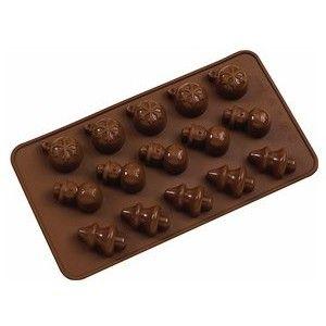 La Patisserie Chocolate Mould - Silicone - Christmas Golda's Kitchen