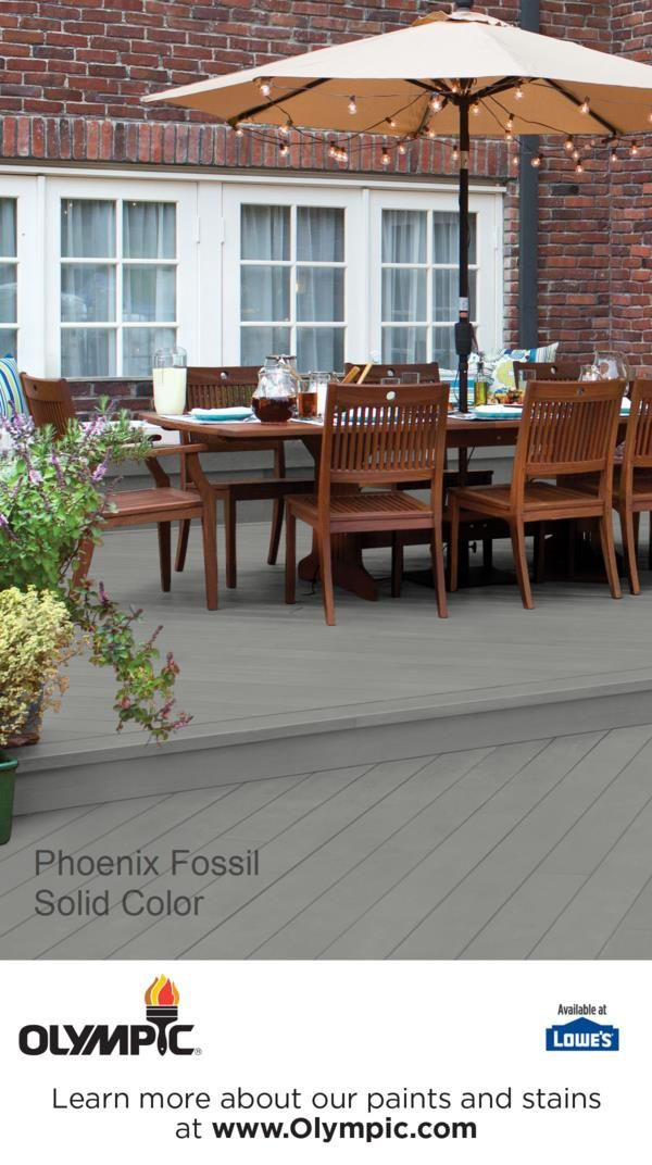 Wonderful PHOENIX FOSSIL Is A Part Of The Olympic Stains   Solid Collection By Olympic®  Stains