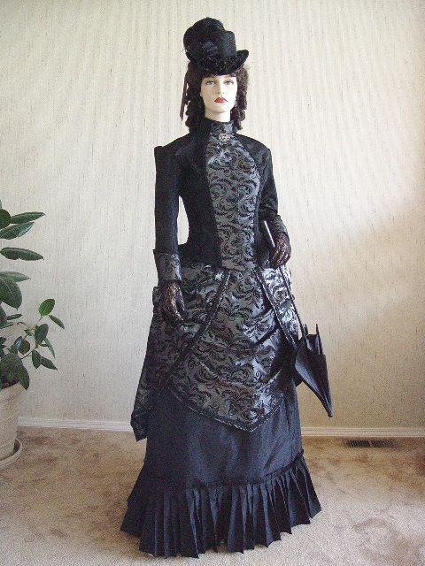 Victorian Promenade Dress front