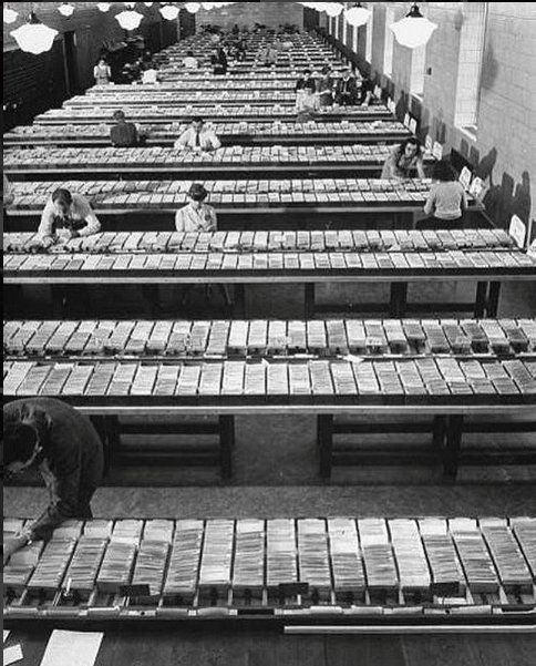 """Old Pics Archive on Twitter: """"The card catalog room at the Library of Congress, Washington D.C. https://t.co/WYbseHGvOa"""""""