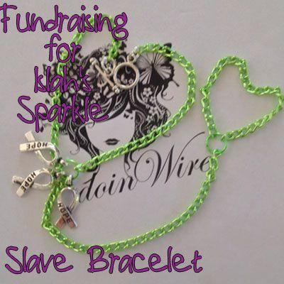 IslahsSparkle Awareness Slave Bracelet https://www.facebook.com/IslahsSparkle