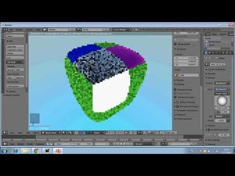 Blender3D 9 Material, çeşitleri ve hazır textures - YouTube