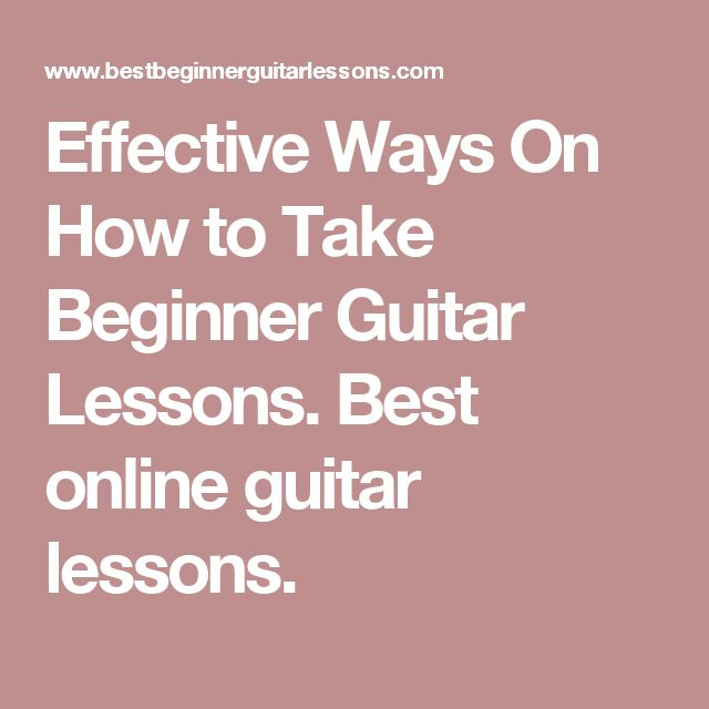 What is the best way to learn guitar without going to take ...