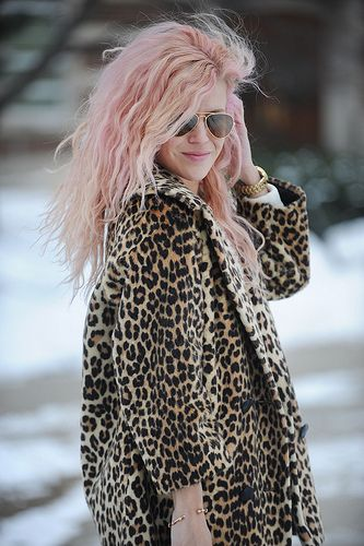 Pepto pink &  leopard