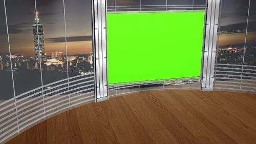 Studio Set (studio Virtual Para Chroma Key)