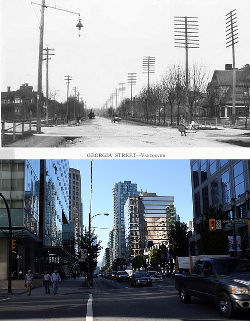 Georgia and Thurlow - 1900/2011