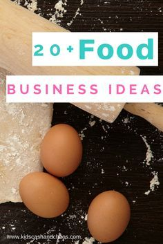 Great list of small scale food business ideas! I never would have thought of some of these! Plus, tons of info to help you get your business started.