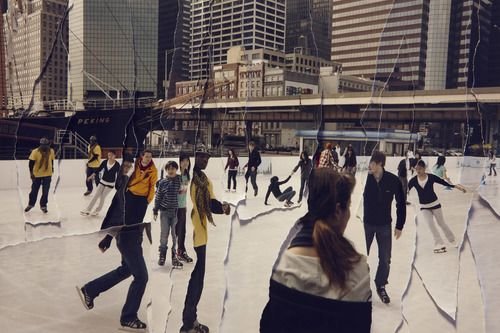 John Clang -Time, 2009 (Seaport Ice)