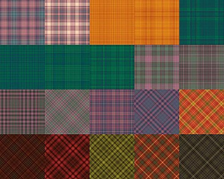 Free Plaid Patterns for Photoshop by Shelby Kate Schmitz: Plaid Patterns Set 3