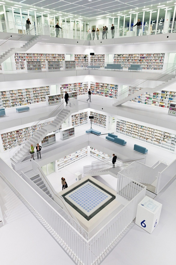 The New Stuttgart City Library - Germany (The Cool Hunter) andbold