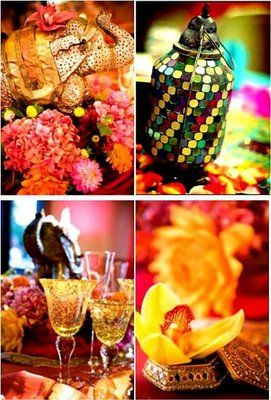 An Indian Summer: India Inspired Wedding