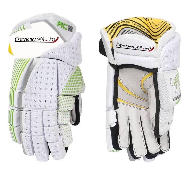 guantes adecuados para jugar hockey, diferentes colores y estilos