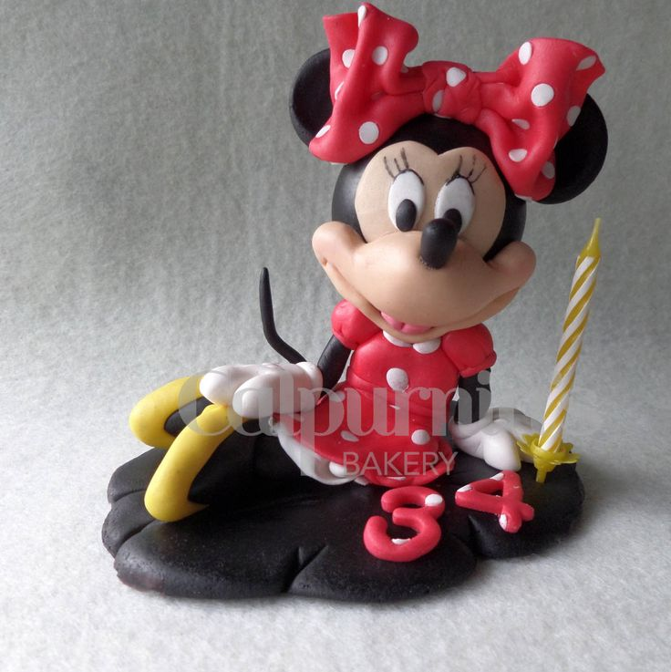 Minnie Mouse fondant