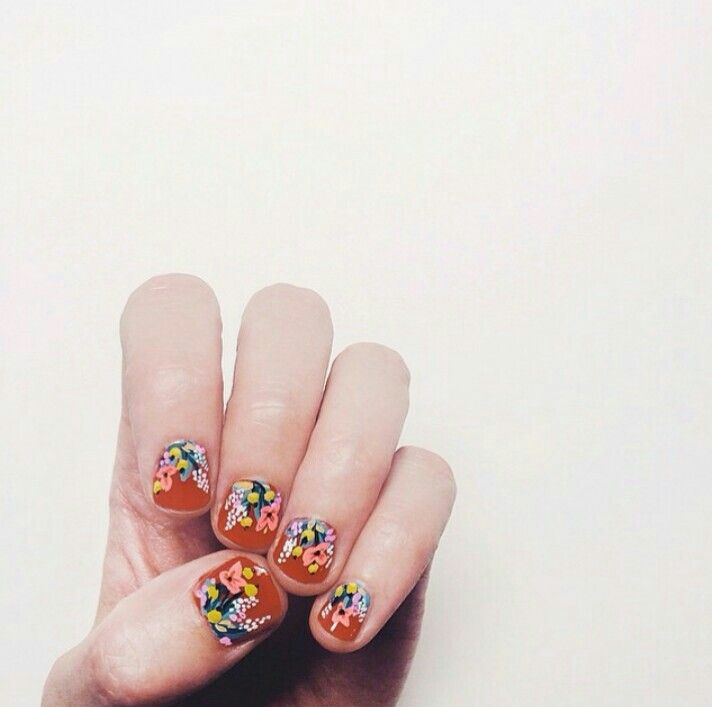 Anna Bond of Rifle Paper Co knows how to do her nails!