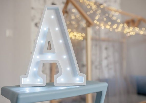 Solar Lights Ideas Outdoor Discover Letter Lights A Marquee Letter A Alphabet Lights Marquee Letters Nurs In 2020 Lighted Marquee Letters Light Letters Marquee Letters