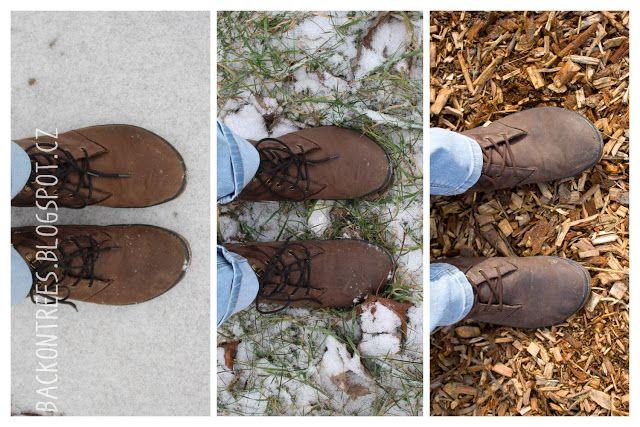 Back on Trees: Zima v barefoot botách