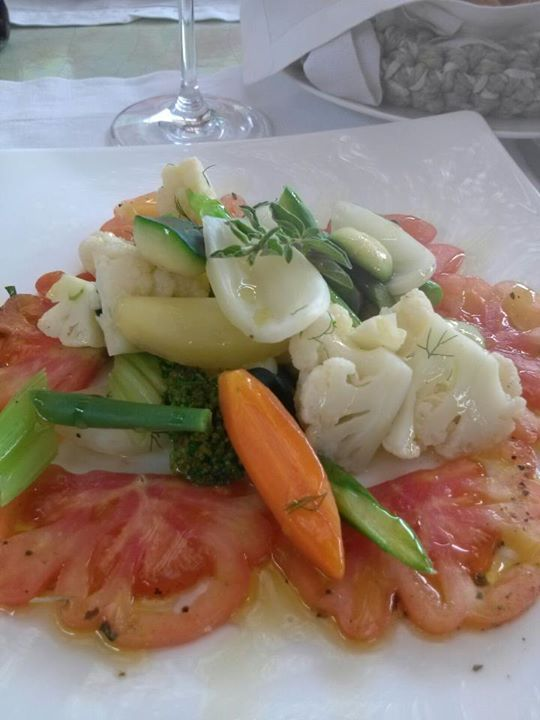 Most delicious lunch from Punta Molino resort on Ischia, Italy. http://www.facebook.com/celebratetravelinc