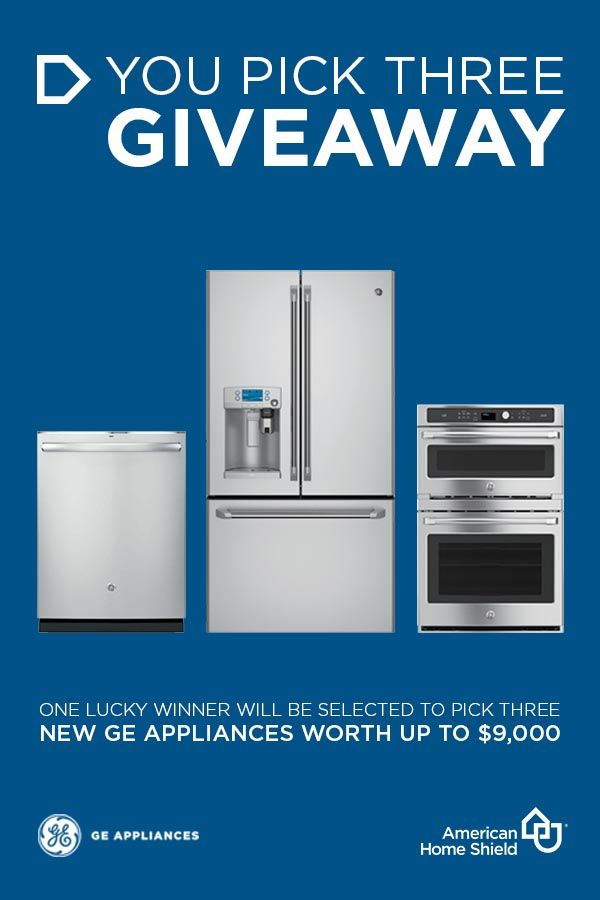 #Win Your Choice Of 3 brand new @GE_Appliances! #YouPick3 ahs.com/sweeps http://swee.ps/sSOEOoXQ 4/10