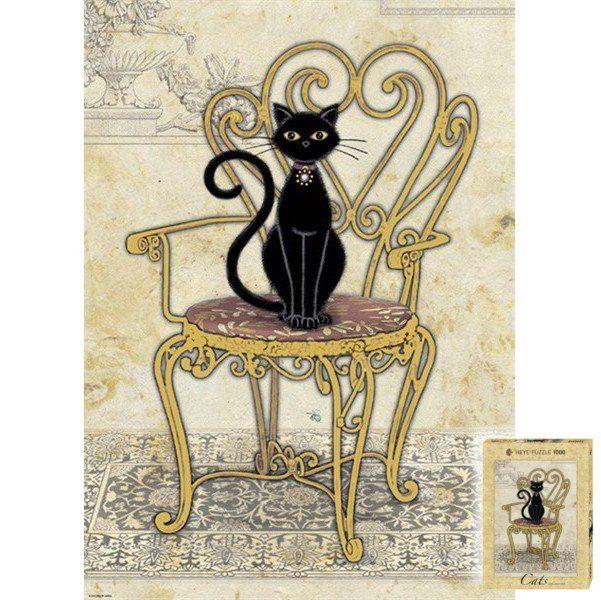 Puzzle Cats Chair, Jane Crowther -    , tylko w empik.com: 56,99 zł. Przeczytaj recenzję Puzzle Cats Chair, Jane Crowther. Zamów dostawę do dowolnego salonu i zapłać przy odbiorze!