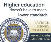 Patrick Henry College: Higher education doesn't have to mean lower standards.