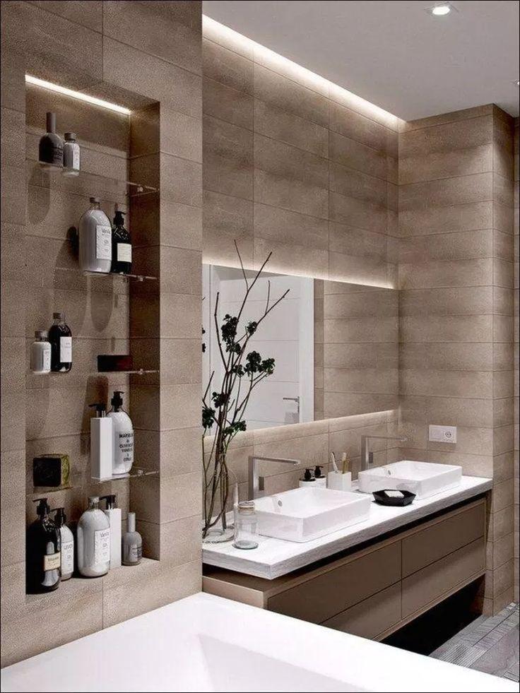 47+ Modern Bathroom Design Ideas To Inspire Yourself 18