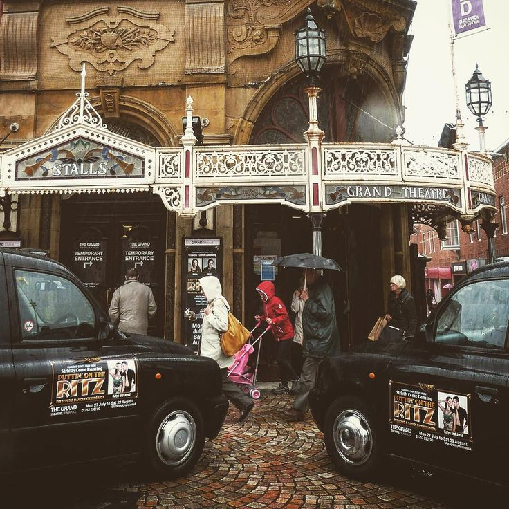 """""""Because of the Winter Gardens' competition, this is the dance capital for us in England, so it's special to be able to perform in Puttin On The Ritz at The Grand Theatre."""" @KatyaVirshilas"""