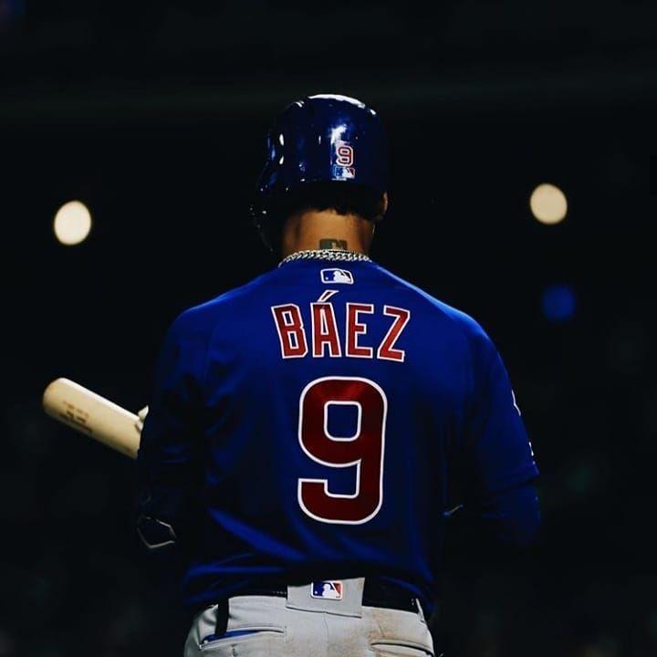 Hyeonjun On Instagram Baez Javierbaez Baseball Chicago Cubs Wallpaper Cubs Players Cubs Wallpaper