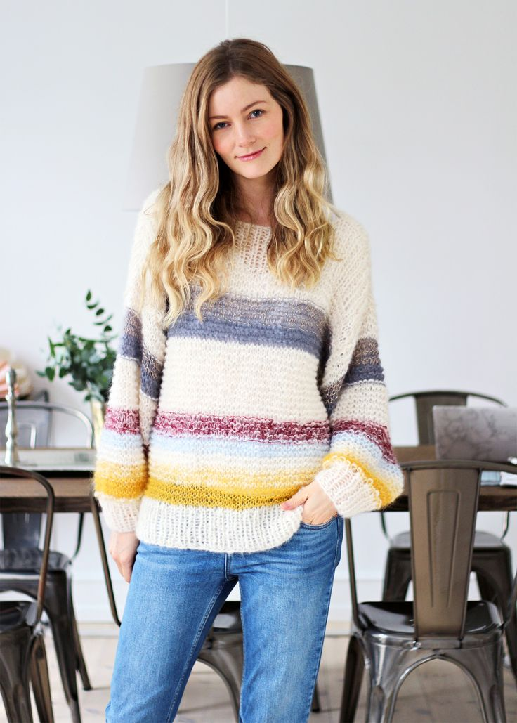 DIY: Knitted Sweater   passionsforfashion