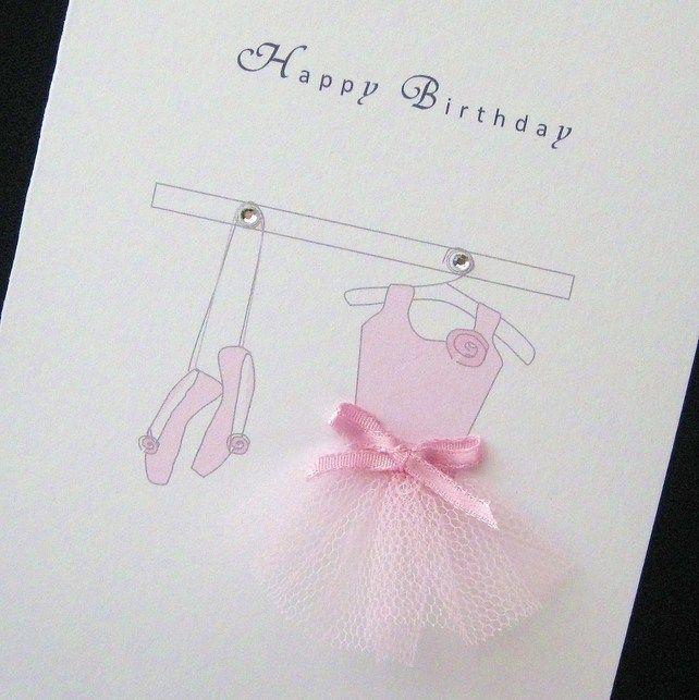 40 Best Ballerina Cards Images On Pinterest