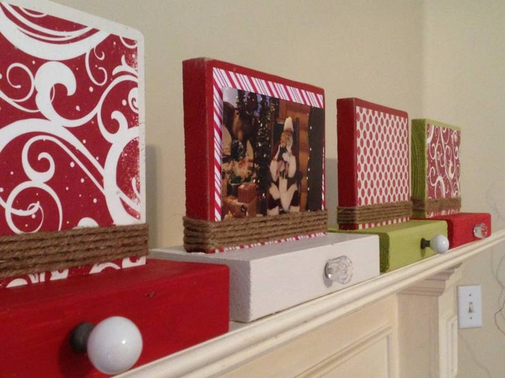 Stocking Holder that you could also wall mount if you didn't have a mantel