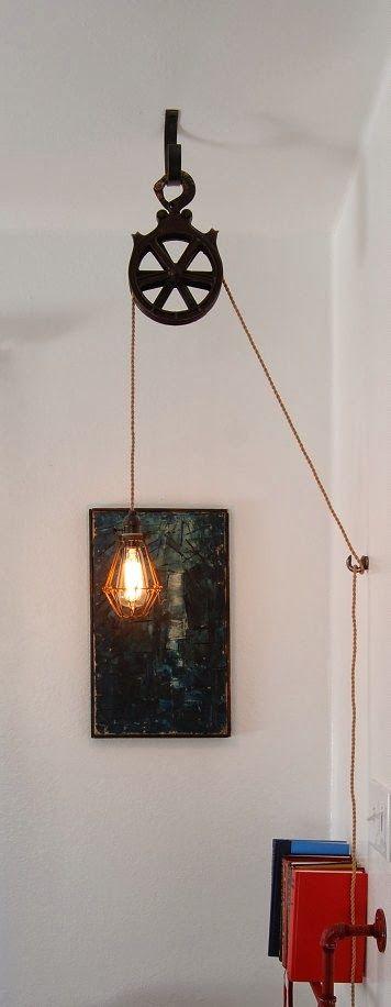 Polea para sujetar lámpara                                                                                                                                                                                 Más