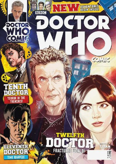 Doctor Who Titan Comic UK Issue 6