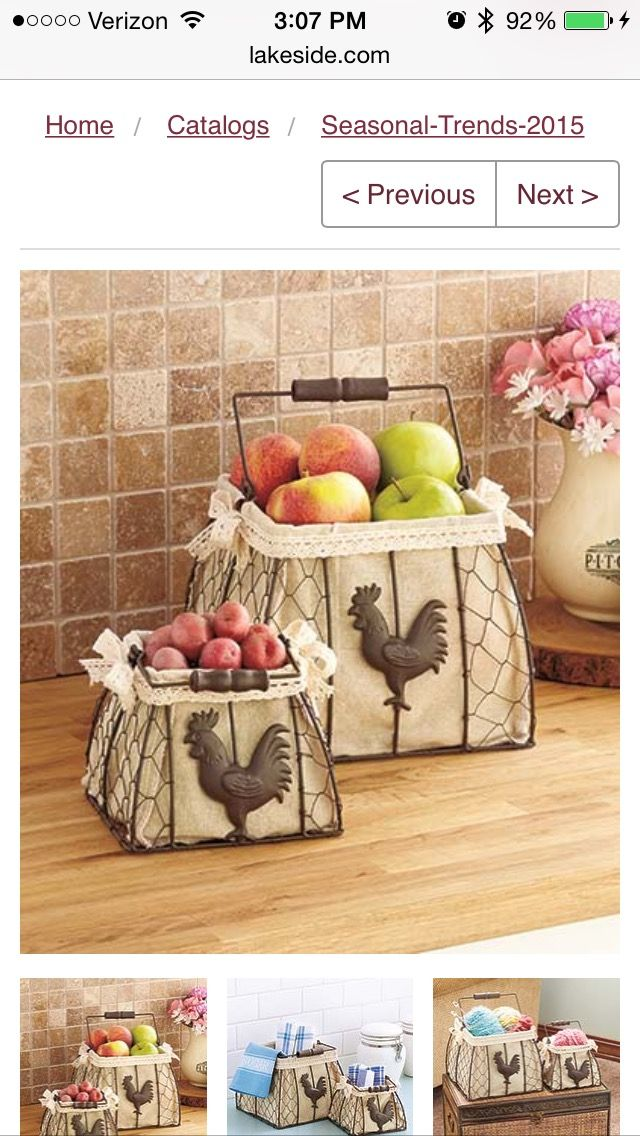 301 best Kitchen kitch and decor images on Pinterest | Rooster ...