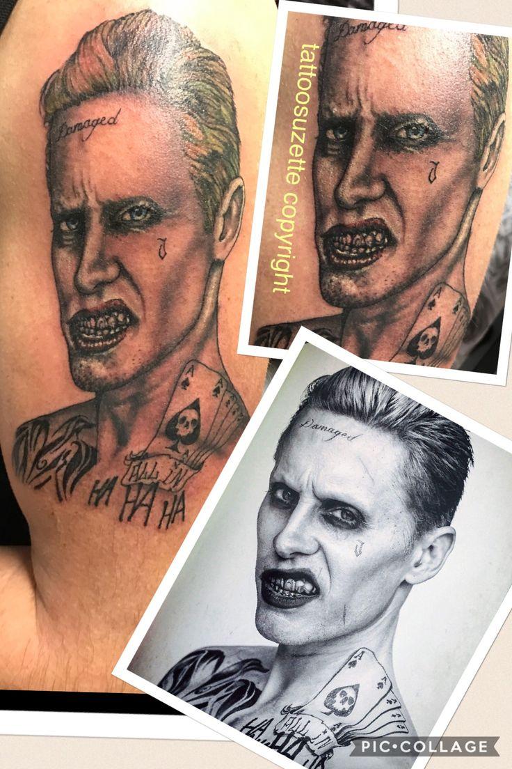 joker tattoo jared letho
