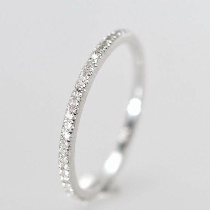 bague mariage mauboussin avec diamants