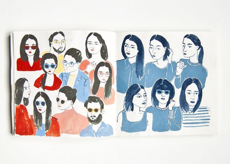 Sketchbook : Leah Reena Goren
