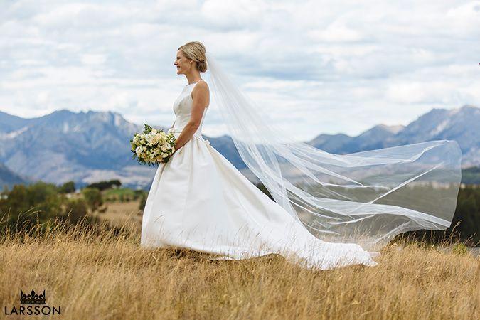 Wanaka Wedding photography, sunset wedding wanaka