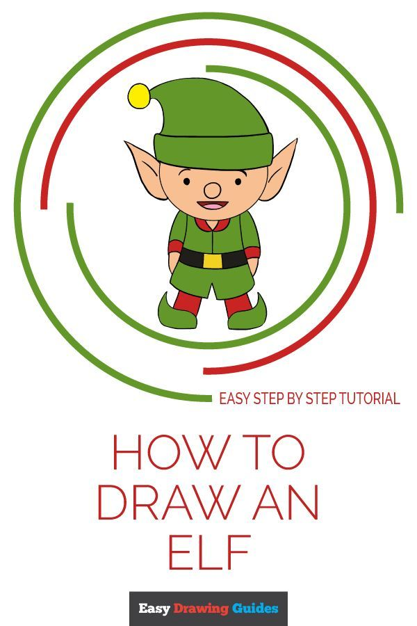 How To Draw An Elf Really Easy Drawing Tutorial Drawing Tutorials For Kids Drawing Tutorial Easy Drawing For Kids