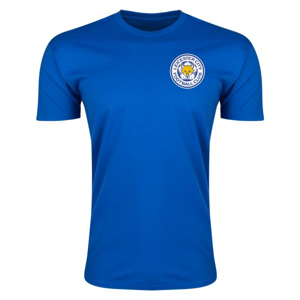 Leicester City Drinkwater Supersoft Player T-Shirt (Royal)