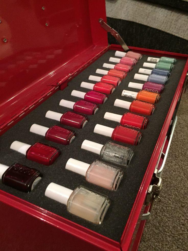 Essie nail polish in Standard Shadow Foam #Benefit #Rimmel #Maybelline #Essence #Babylips #Seventeen #Tangleteezer #Chanel #Britneyspears #Bodyshop #EOS #BarryM #Leestafford #Essie