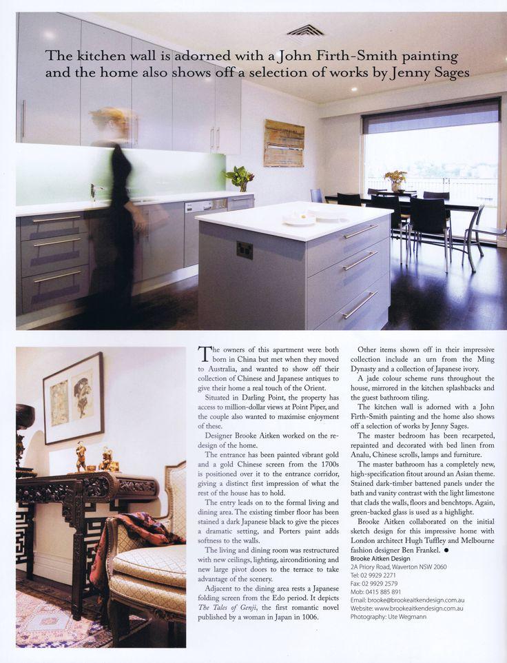 Luxury Home Design Vol 9 No 3 Page 4  Brooke Aitken Design